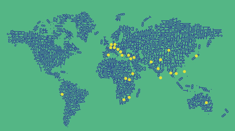 Weltweit in Europa, Afrika, Asien, Ozeanien und Nord- und Südamerika unterwegs.